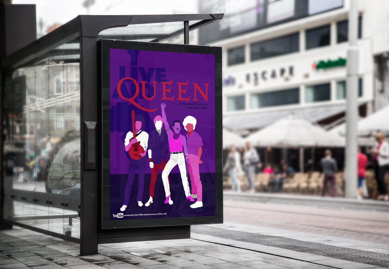 QUEEN AT BUS STOP copy